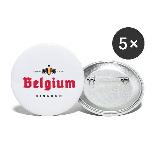 Bierre Belgique - Belgium - Belgie - Lot de 5 petits badges (25 mm)