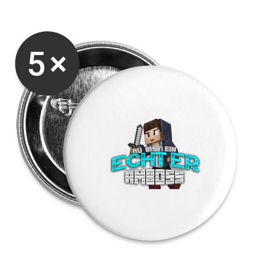 Echter Amboss! - Buttons small 1''/25 mm (5-pack)