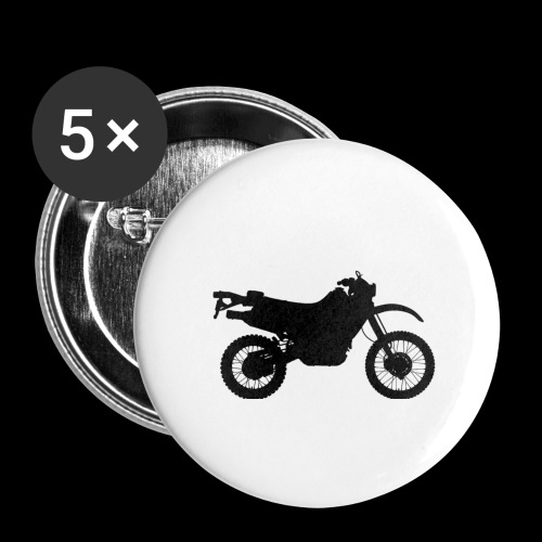 Four Wheels Moves The Body, Two Wheels Moves The S - Buttons small 1''/25 mm (5-pack)