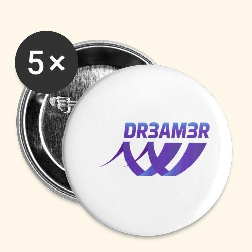 DR3AM3R - Rintamerkit pienet 25 mm (5kpl pakkauksessa)