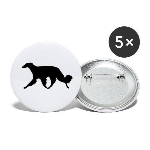 Barsoi - Buttons klein 25 mm (5er Pack)
