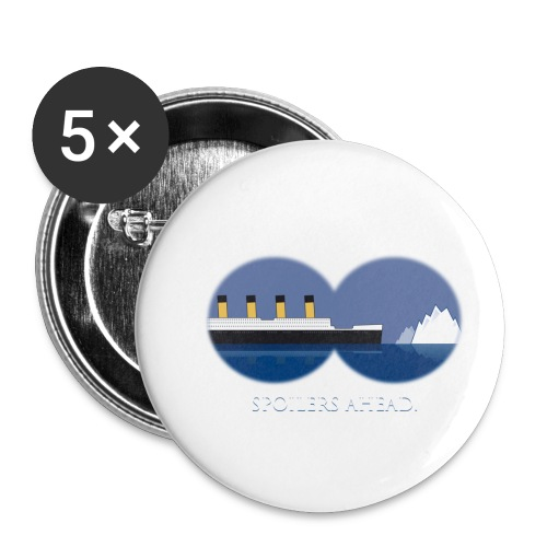 Spoilers ahead. - Buttons klein 25 mm (5er Pack)