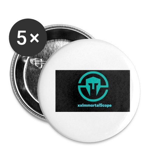 xxImmortalScope throwback - Buttons small 1''/25 mm (5-pack)