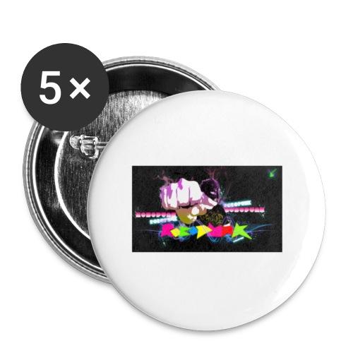 One Punche - Paquete de 5 chapas pequeñas (25 mm)