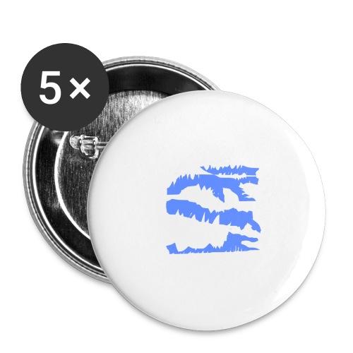 Blue_Sample.png - Buttons klein 25 mm (5er Pack)