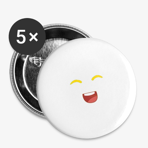 banana - Buttons small 1''/25 mm (5-pack)