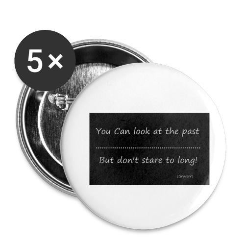 past - Buttons klein 25 mm (5-pack)