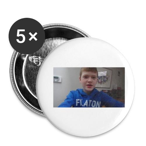 roel t-shirt - Buttons klein 25 mm (5-pack)