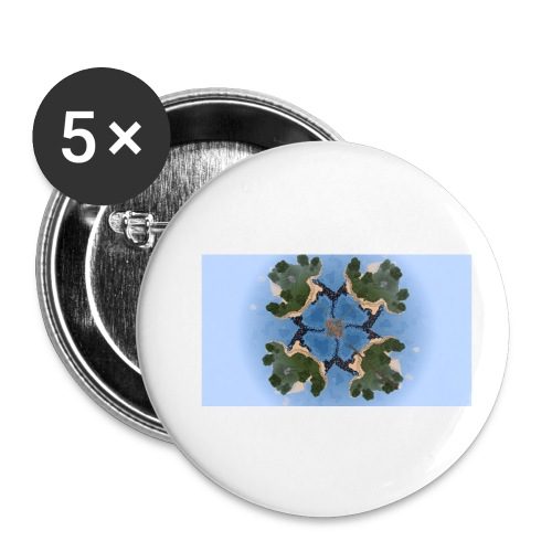 PvP Arena - Buttons klein 25 mm (5er Pack)