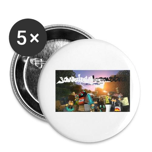 6057231244D88B5F5DED63C6F58FB0122038CBC7A63A50B55 - Buttons small 1''/25 mm (5-pack)
