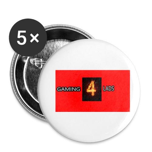 Merch - Lot de 5 petits badges (25 mm)