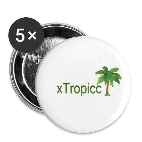 tropicc - Lot de 5 petits badges (25 mm)