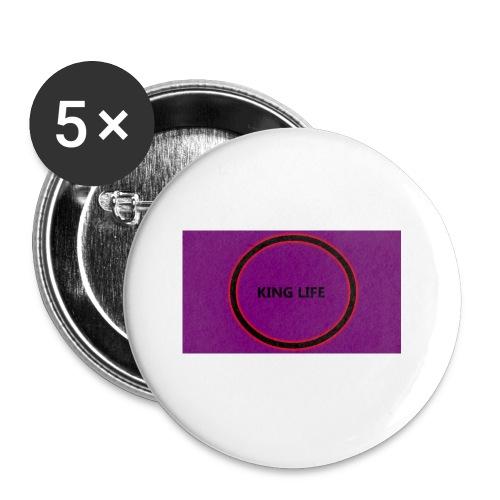 king life - Rintamerkit pienet 25 mm (5kpl pakkauksessa)