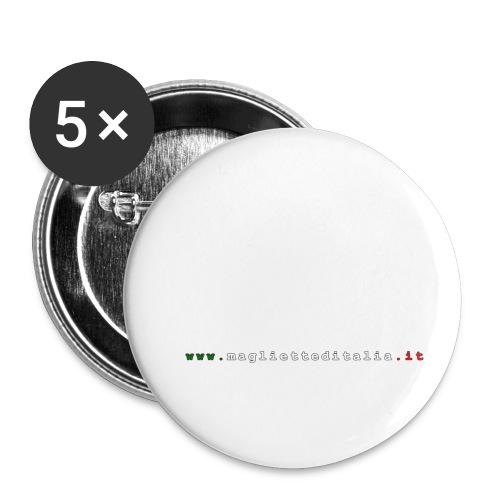 evolution volley attack w new - Confezione da 5 spille piccole (25 mm)