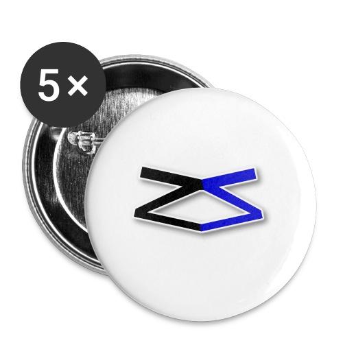 ZeroSeal - Buttons small 1''/25 mm (5-pack)