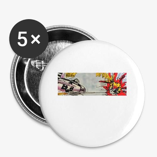 ATOX - Confezione da 5 spille piccole (25 mm)