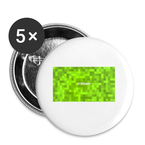 Youtube Triffcold - Buttons klein 25 mm (5er Pack)
