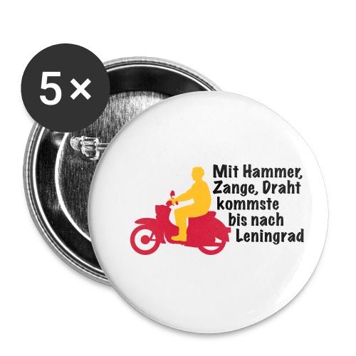 Schwalbe Spruch mit Mann - Buttons klein 25 mm (5er Pack)