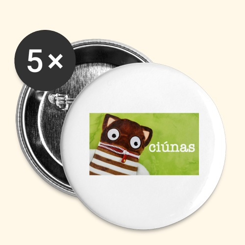 ciunas - Buttons small 1''/25 mm (5-pack)