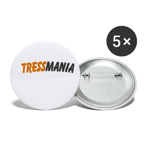 Tressmania Logo 01 - Buttons small 1''/25 mm (5-pack)