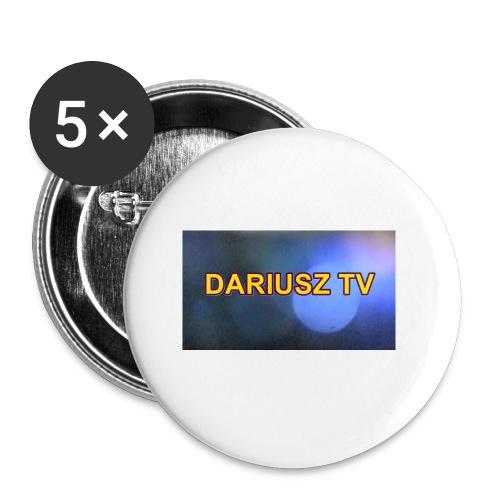 DARIUSZ TV - Przypinka mała 25 mm (pakiet 5 szt.)