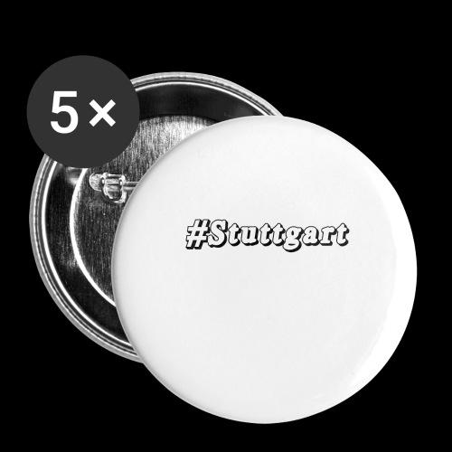 #Stuttgart - Buttons klein 25 mm