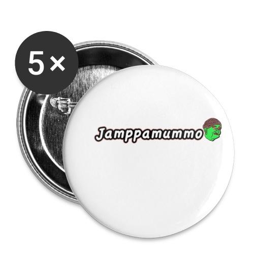 Jamppamummo! - Rintamerkit pienet 25 mm (5kpl pakkauksessa)