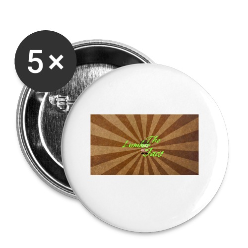 THELUMBERJACKS - Buttons small 1''/25 mm (5-pack)