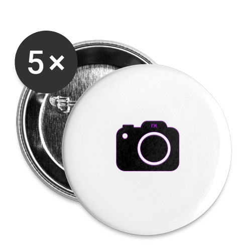 FM camera - Buttons small 1''/25 mm (5-pack)