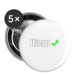 Flierp Vink - Buttons klein 25 mm