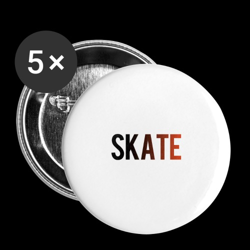 SKATE - Buttons klein 25 mm (5-pack)