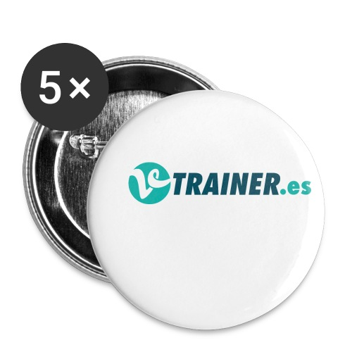 VTRAINER.es - Paquete de 5 chapas pequeñas (25 mm)