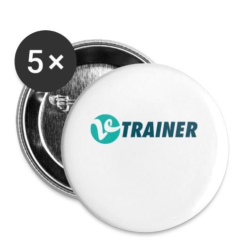 VTRAINER - Paquete de 5 chapas pequeñas (25 mm)