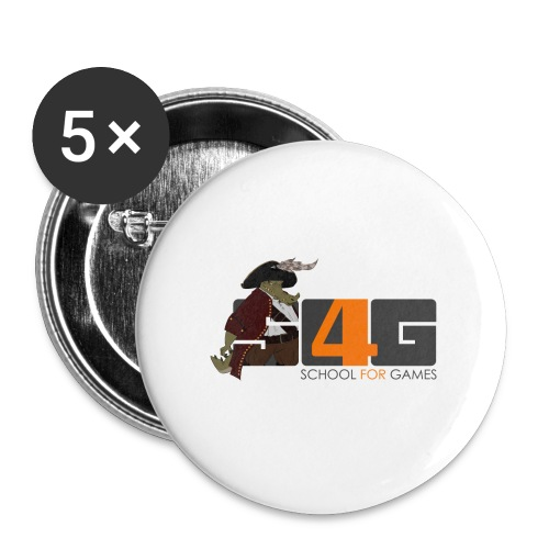 Tshirt 01 png - Buttons klein 25 mm (5er Pack)