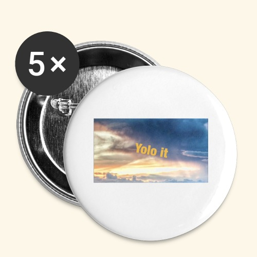 My merch - Buttons small 1''/25 mm (5-pack)