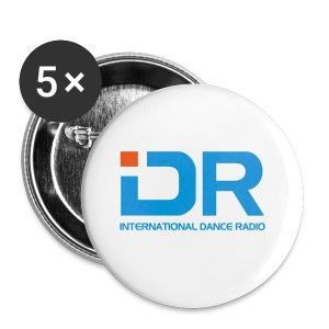 International Dance Radio - Chapa pequeña 25 mm