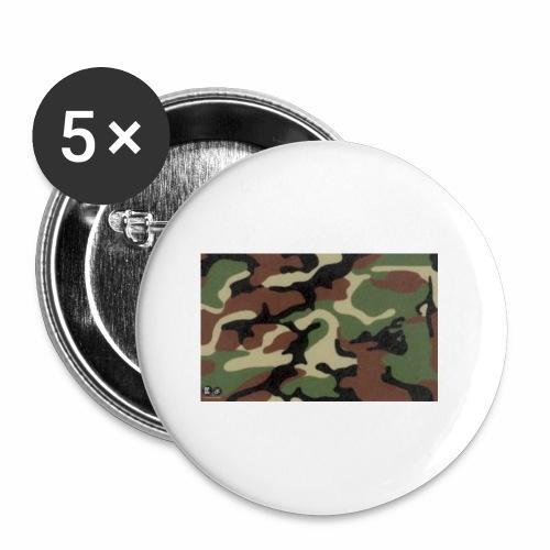 camu - Paquete de 5 chapas pequeñas (25 mm)