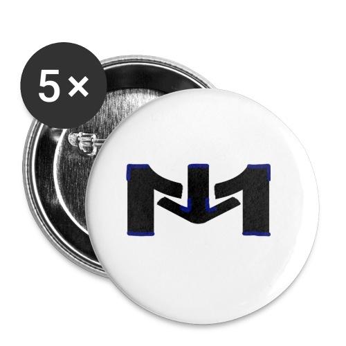 Mousta spécial accéssoire - Lot de 5 petits badges (25 mm)