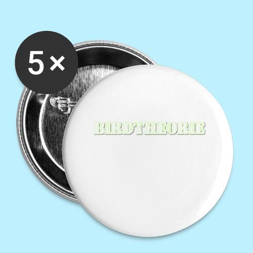 birththeoro green - Buttons klein 25 mm (5-pack)
