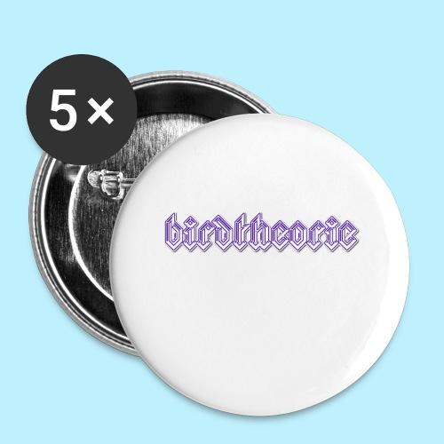 birdtheooooo - Buttons klein 25 mm (5-pack)