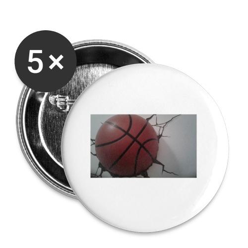 Softer Kevin K - Små knappar 25 mm (5-pack)