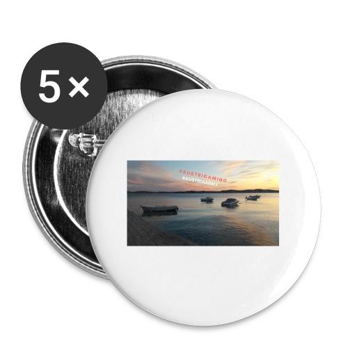 Merch - Buttons klein 25 mm (5er Pack)
