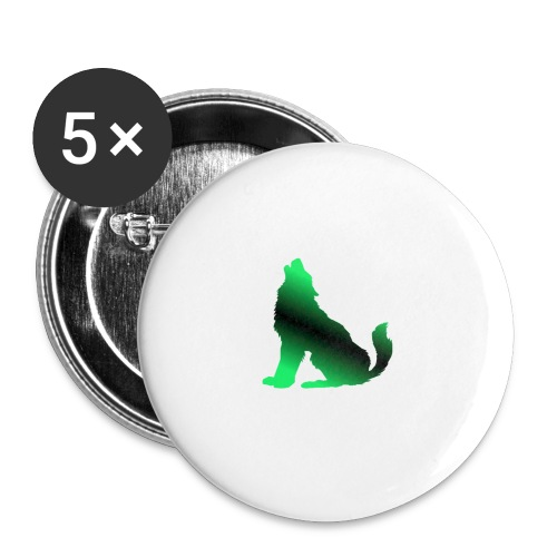 Howler - Buttons small 1''/25 mm (5-pack)