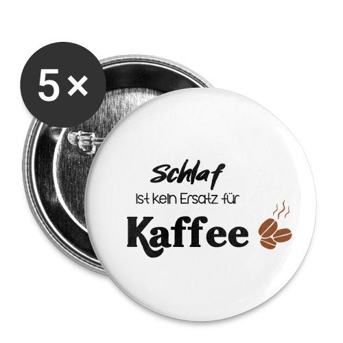 Schlafersatz - Buttons klein 25 mm (5er Pack)
