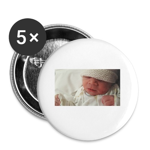 baby brother - Buttons small 1''/25 mm (5-pack)