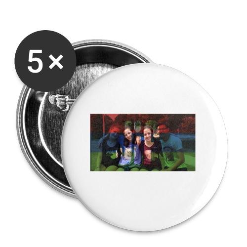 PV-Bike Trip Propaganda - Buttons klein 25 mm (5er Pack)