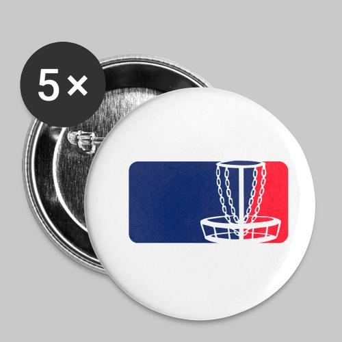 Disc golf - Rintamerkit pienet 25 mm (5kpl pakkauksessa)