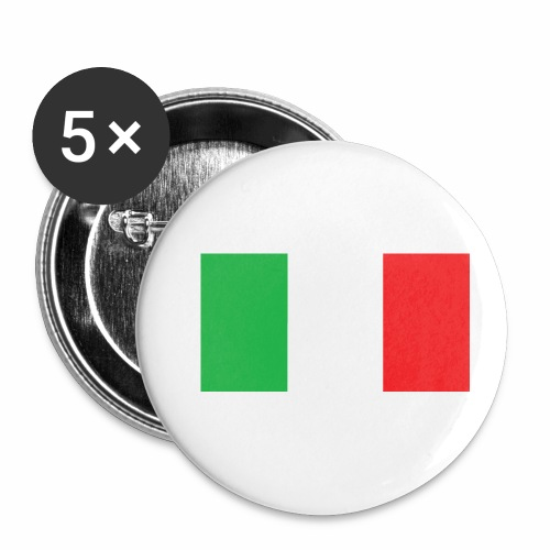 Italien Fußball - Buttons klein 25 mm (5er Pack)