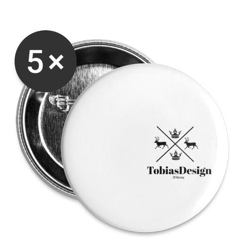 Tobias Design of Norway - Liten pin 25 mm (5-er pakke)