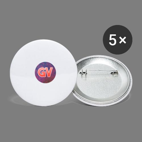 GV 2.0 - Buttons klein 25 mm (5-pack)